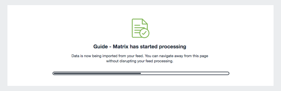 Feedme Matrix Guide Start